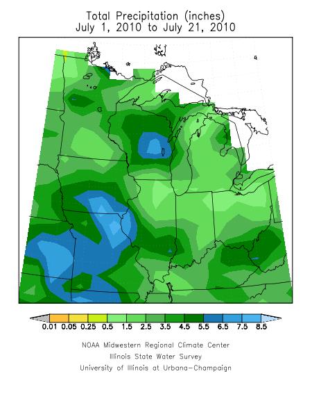 Midwest Rainfall