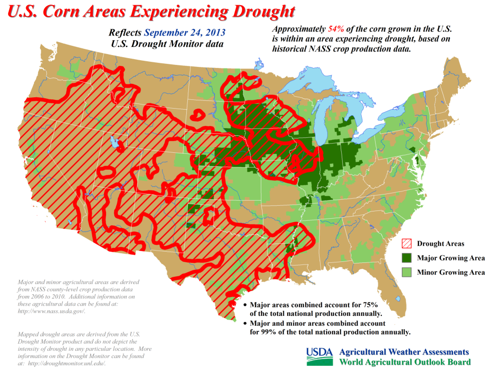 Drought Illinois State Climatologist - Agriculture by state us map