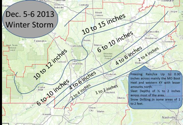 Storm Totals