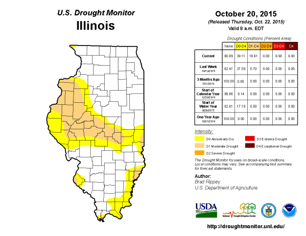 USDM for Illinois. Click to enlarge.