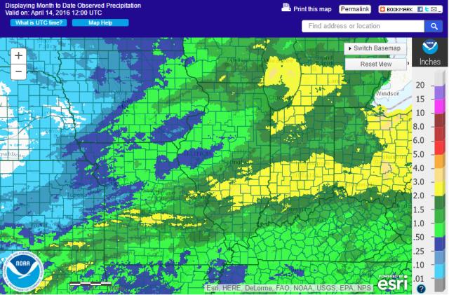 AHPS Precipitation Analysis