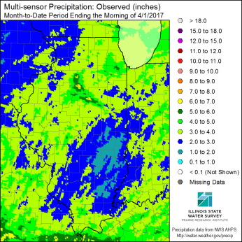 March Precipitation